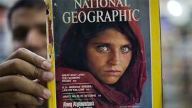 Afghan Girl From Iconic National Geographic Cover Faces 14 Years in Prison