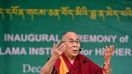 """Dalai Lama says there are """"too many"""" refugees in Europe"""