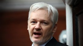 Wikileaks founder addresses alleged CIA Trump hacking