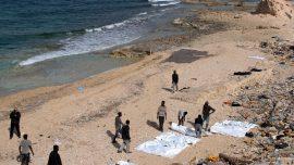 Five dead migrants found off the coast of Libya