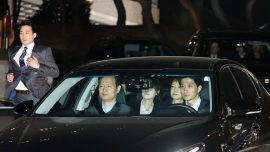 Ousted South Korean president now arrested