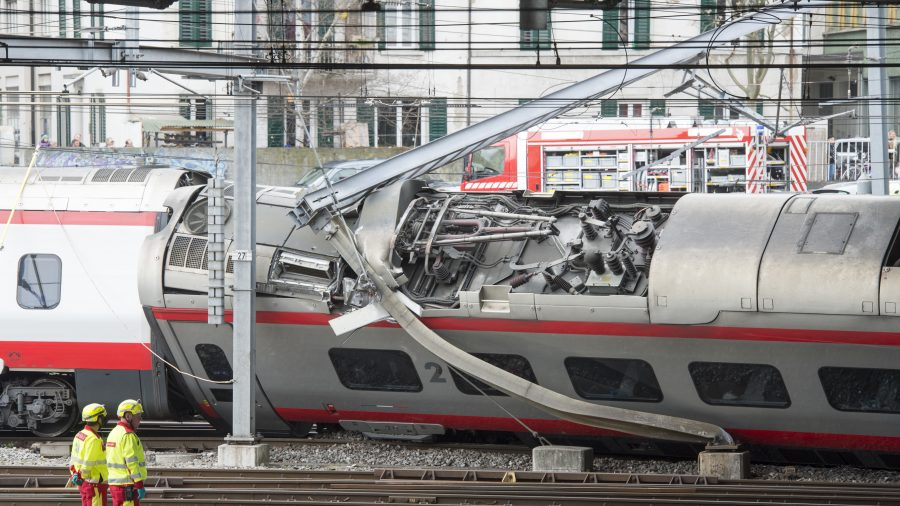 At least three injured after train from Italy derails in Switzerland