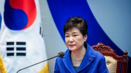 South Korean prosecutors: President Park colluded for Samsung bribe