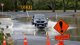 Storm causes floods, landslides, and blackouts in New Zealand