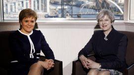 May and Sturgeon meet before Scotland resumes debate on independence referendum