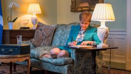 Scotland's first minister demands second vote for independence in letter to UK PM