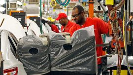 Industrial production up half a percent in March