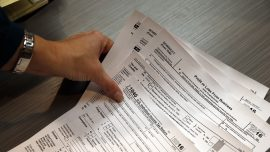 Tax deadline pushed to Tuesday