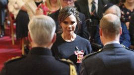 Former Spice Girl gets royal British recognition