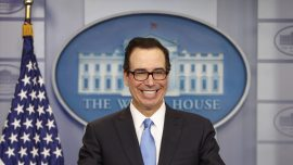 Trump and Mnuchin proposing unprecedented drop in taxes