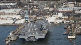 USS Gerald R. Ford begins sea trials