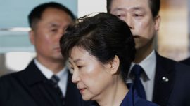 Ousted SKorea president charged with bribery