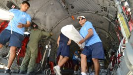 Peru receives US aid for flood victims