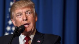 President Trump comments on missile attack on Syria airbase