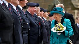 Queen Elizabeth visits every cathedral in UK for Maundy Thursday