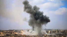 Possible US-led airstrikes kill 20 civilians in eastern Syria