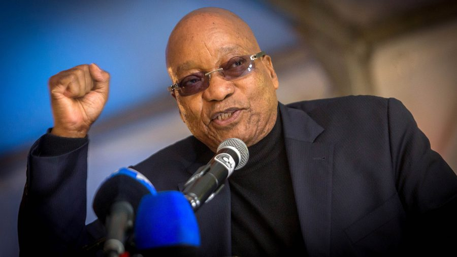 ANC Decides to Remove Zuma as South African President
