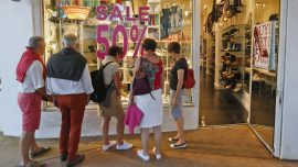 US retail sales looking better after sluggish first quarter