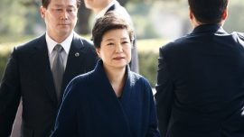 Ousted South Korean president begins defense for corruption charges