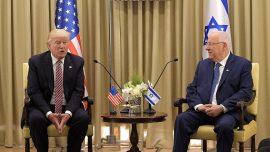 President Trump meets Israeli President Reuven Rivlin