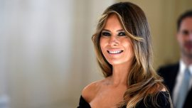 First lady Melania Trump praised for her style on first international trip