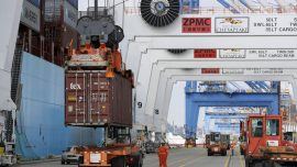 U.S. trade deficit shrank in March