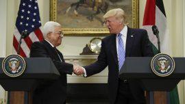 Trump confident on Israel-Palestine peace agreement