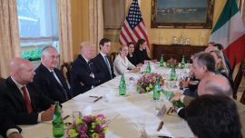 New G-7 members try to agree on old issues