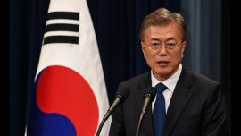 SKorean president to close old coal-fired power plants to mitigate air pollution