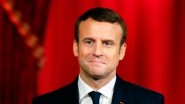 Macron says world needs France 'more than ever'