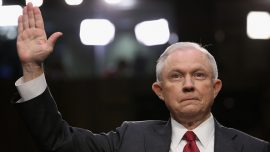 Attorney General Sessions speaks at Senate hearing