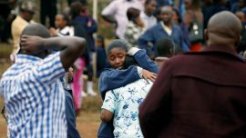 Seven Kenyan schoolgirls die in dormitory blaze