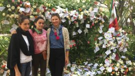 Florists Offer Place To Mourn and Hope In Mexico City