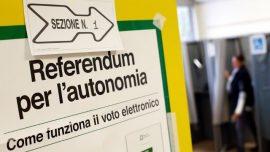 Italians vote in autonomy referendums in shadow of Catalonia crisis