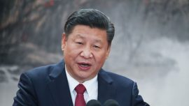 Xi First to Adopt 'Helmsman' Title Since Mao