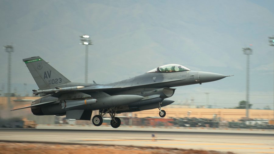 Missing US Pilot Found Dead After F-16 Crashed in Michigan
