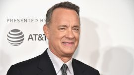Tom Hanks Applauds New Academy Museum in Los Angeles