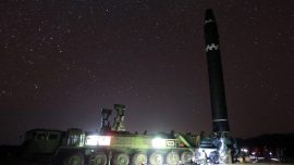Report: North Korea Testing Anthrax Warhead For ICBM