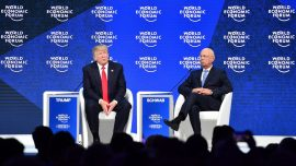 Trump Pitches 'America First' in Davos