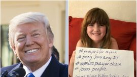 Girl Trump and the World Prayed For Makes Amazing Recovery