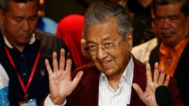 Malaysia's Newly Elected PM Bars Predecessor and Accused Kleptocrat From Leaving the Country