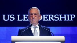 Defense Secretary Mattis: US Will Push Back Against Beijing's 'Intimidation and Coercion'