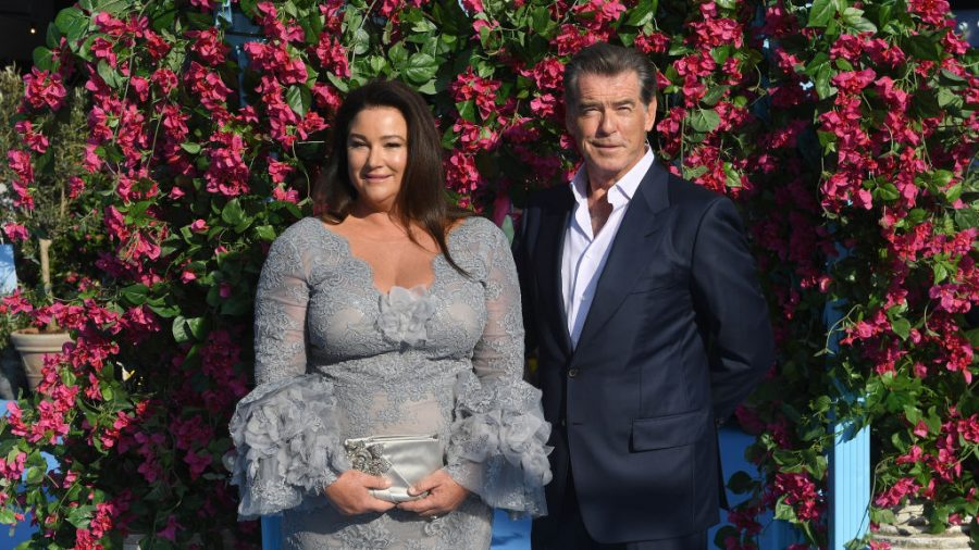 Pierce Brosnan and His Wife Celebrate 25 Sweet Years Together