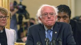 Bernie Sanders Says He'll Reveal Whether Aliens Are Real If He Ever Finds Out
