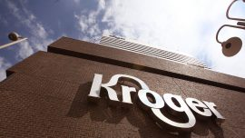Woman Bashes Into Glass Window at Kroger's and Sues the Contractor