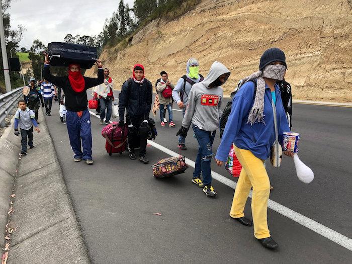 Venezuelan migrants Ecuador regional summit