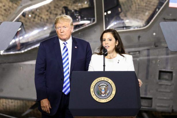Rep. Elise Stefanik and Trump