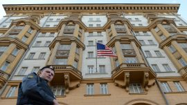 US Embassy in Moscow Temporarily Resumes Halted Services