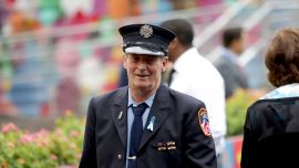 9/11 First Responder Recalls Moment When North Tower Fell