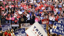 Trump Rallies in Missouri for GOP Senate Candidate Josh Hawley
